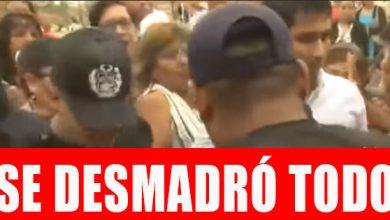 Photo of Apareció el video del Alcalde de V. El S.  huyendo de sus vecinos