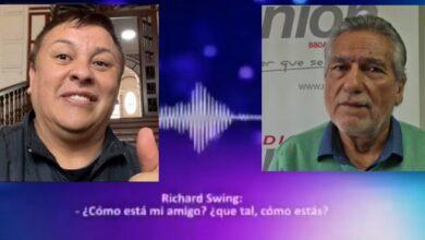 Photo of Filtran audio de Richard Swing con Raúl Maraví que hunde a Vizcarra