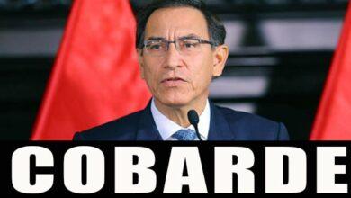 Photo of Último Momento: Martín Vizcarra se corrió del Congreso